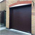 Roller Garage Door With Rendering