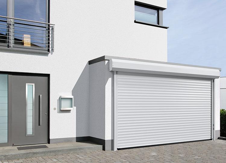 White Roller Garage Doors Jersey