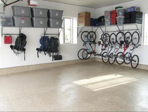 Garage Interior Racking & Flooring